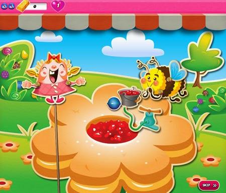 Candy Crush Saga 741-755 ending