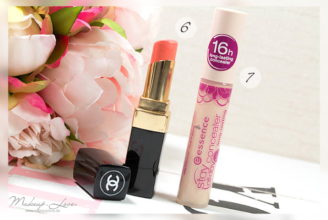 chanel rouge coco shine flirt essence stay all day concealer natural beige