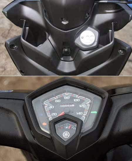 speedometer Yamaha New Soul GT 125