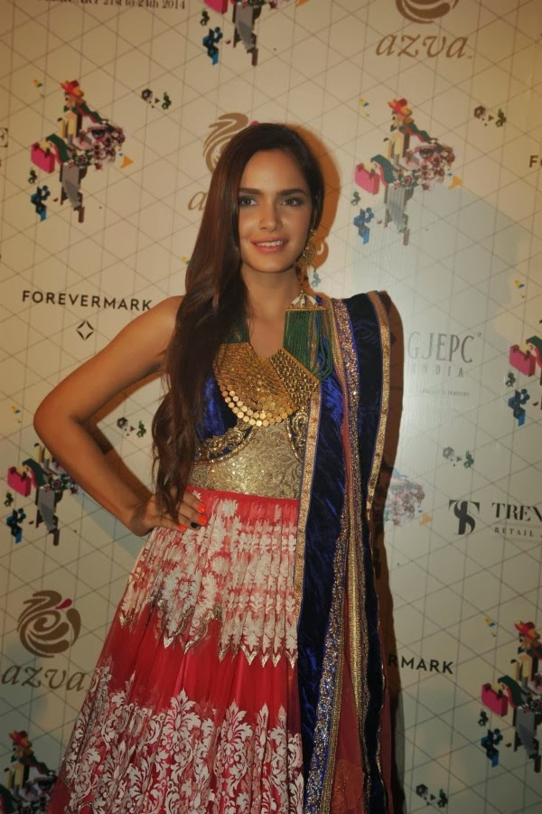 Shazahn Padamsee at Retail Jeweller India Trendsetters 2014