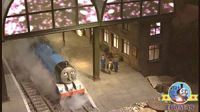 Stop Thomas & friends Gordon the express train Sir Topham Hatt the grand epic fireworks display