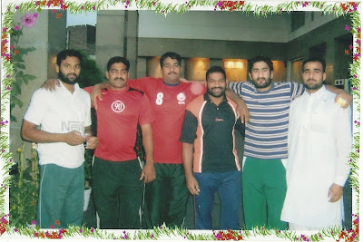 Pakistani Kabbadi Team Players in INDIA
