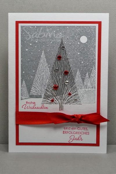 Kartenwerkstatt weihnachten modern for Weihnachten modern