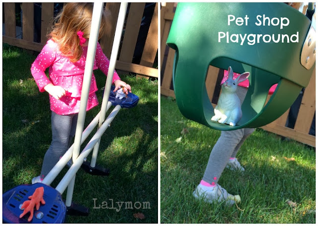 Pet Playground Pretend Play from Lalymom