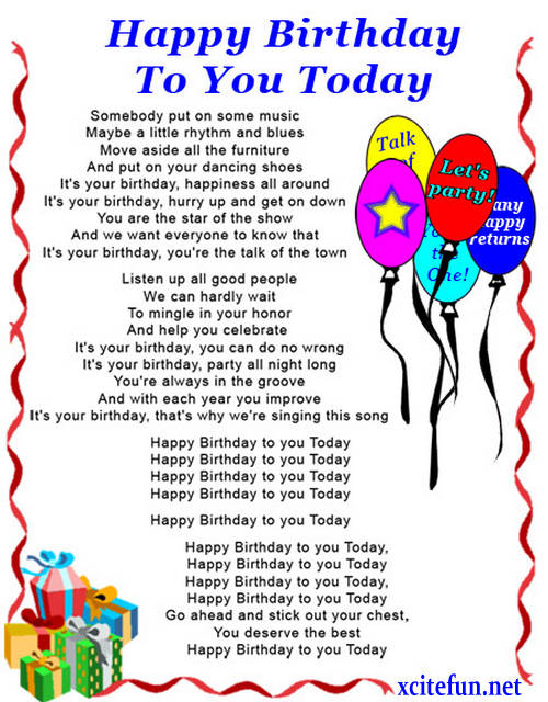 kaaajaplace: Birthday Poems