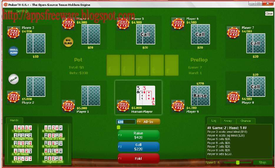 game poker offline pc