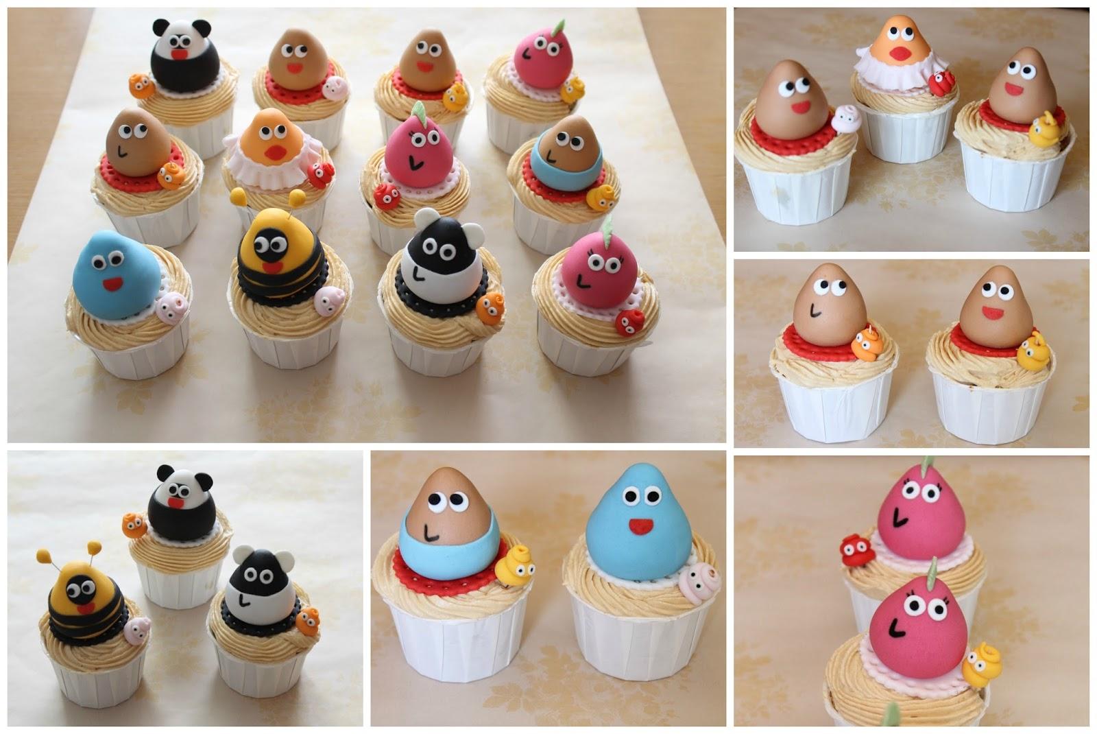 El Hada de Algodón : Cupcakes Pou