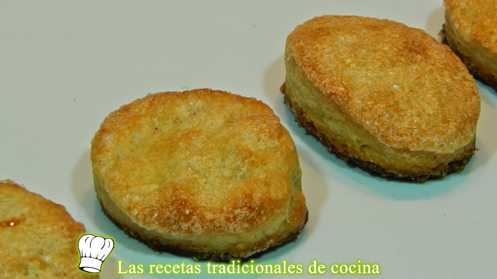Galletas de mantequilla con queso azul