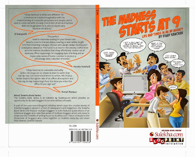 """My Advice to younger self is """"never grow up, there are just too many bills to pay"""" :Interview With 'Vinay Kanchan, Author Of The Book 'The Madness Starts at 9′"""