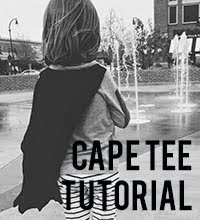 cape tee tutorial