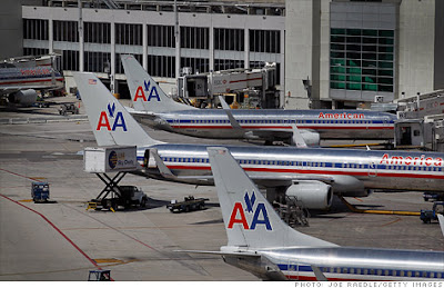 I Hope You Used Up All Those American Frequent Flier Miles-- I Wish I Had