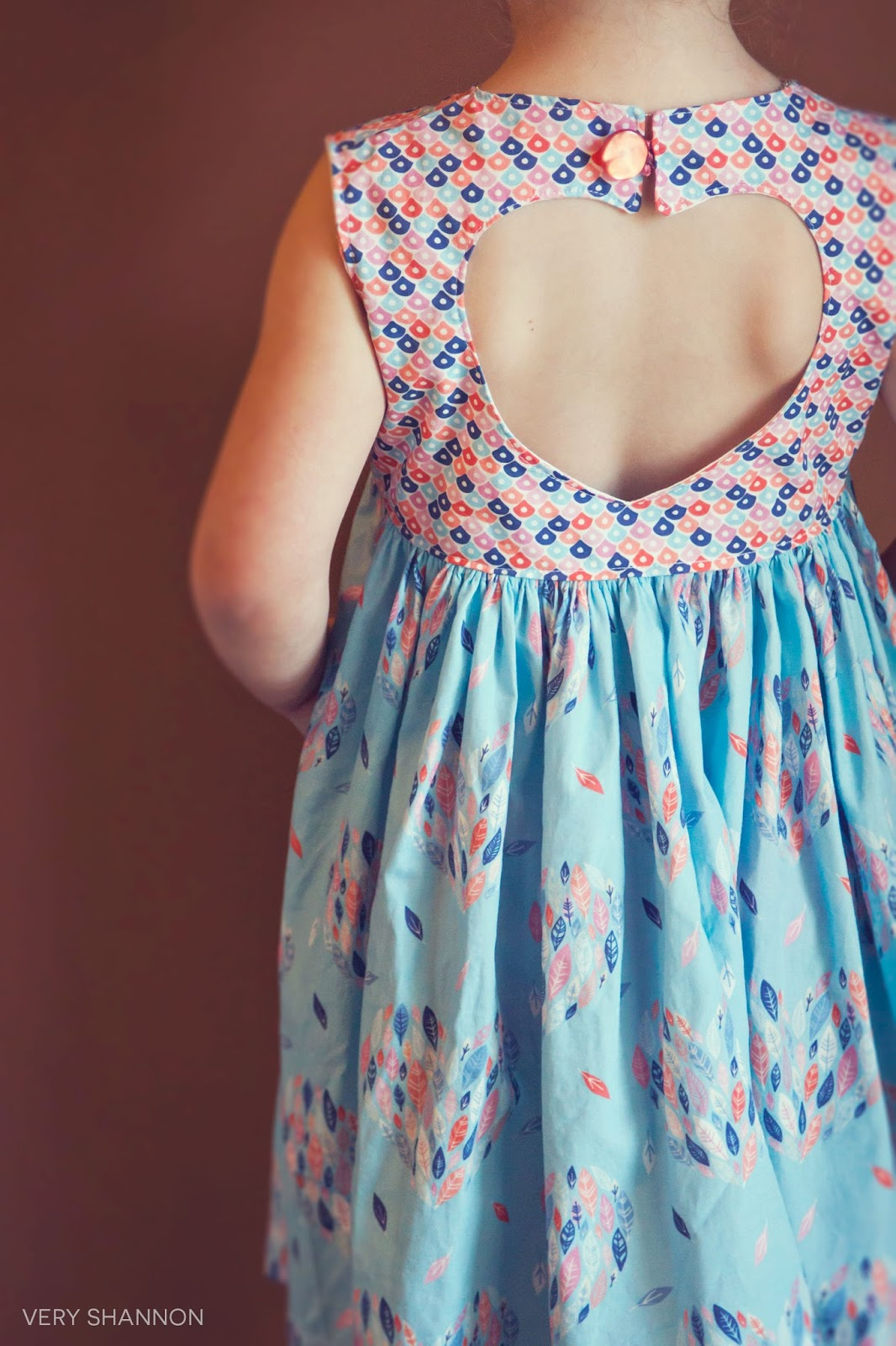 Sweetheart Dress Sewing Pattern /// VeryShannon.com