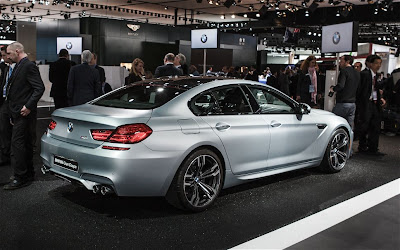 2014 BMW M6 Gran Coupe rear three quarters
