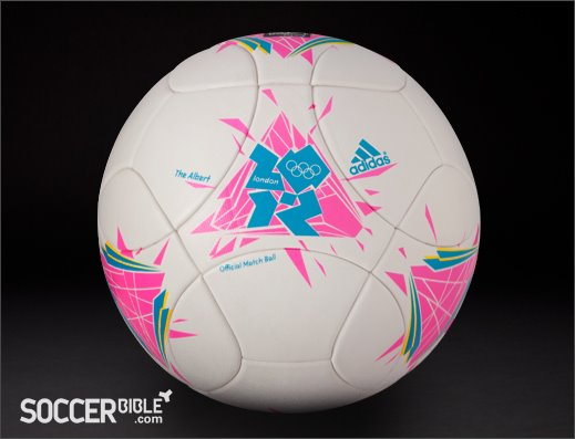 """ The Albert"" aka London Olympic match ball"