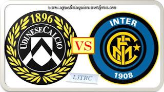 Inter de Milán Vs Udinese Clásico en la Jornada 14 de la Liga Italiana