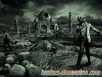 Gambaran Kota Zombie