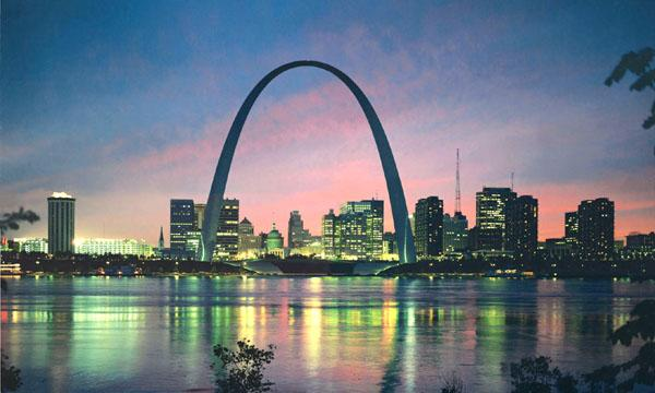 Art Now and Then: The Gateway Arch--St. Louis, Missouri