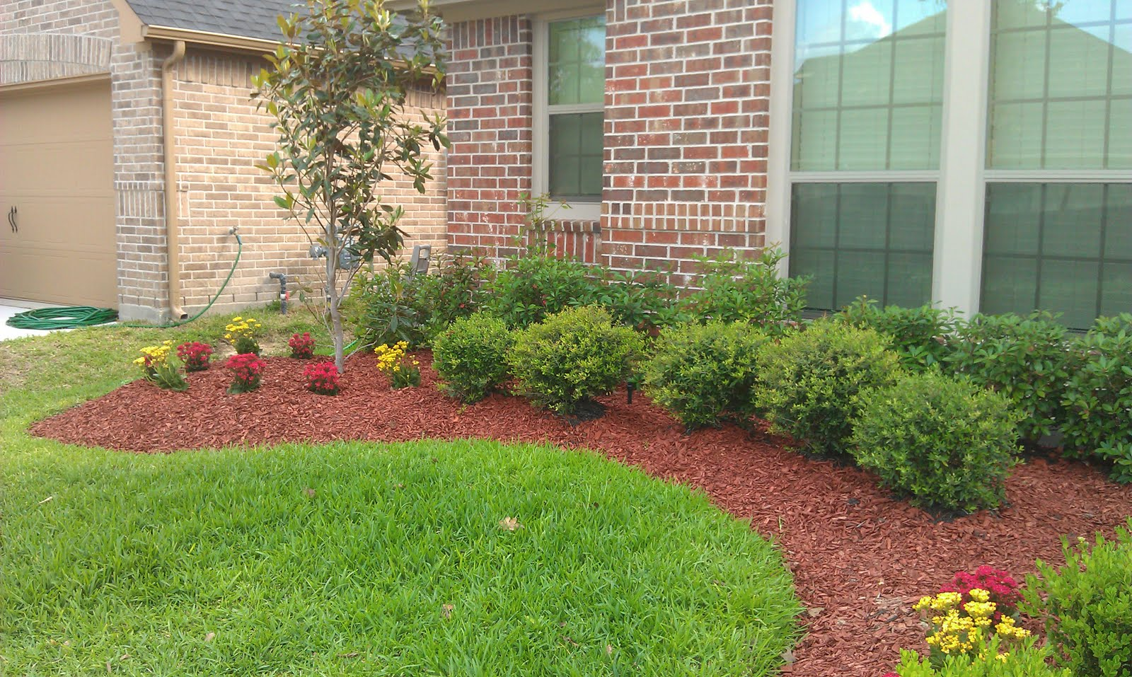 Landscaping ideas for front of house azaleas pdf for Landscaping your home