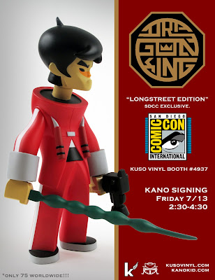 "San Diego Comic-Con Exclusive 2012 Exclusive ""Longstreet"" Dragon King by kaNO"