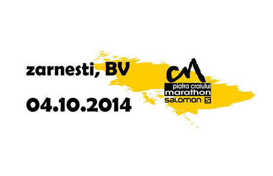 Alergare montană. Maraton Piatra Craiului. Pantofi de alergare La Sportiva. Logo