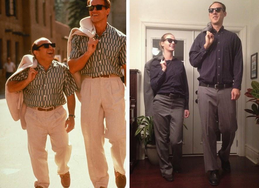 Arnold Schwarzenegger and Danny Devito: Tall Halloween Costume