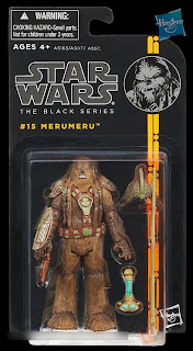 "Hasbro Star Wars The Black Series - Series 2 - 3.75"" Merumeru Figure"
