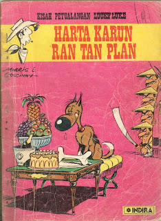 eBook Komik Lucky Luke - Harta Karun Ran Tan Plan