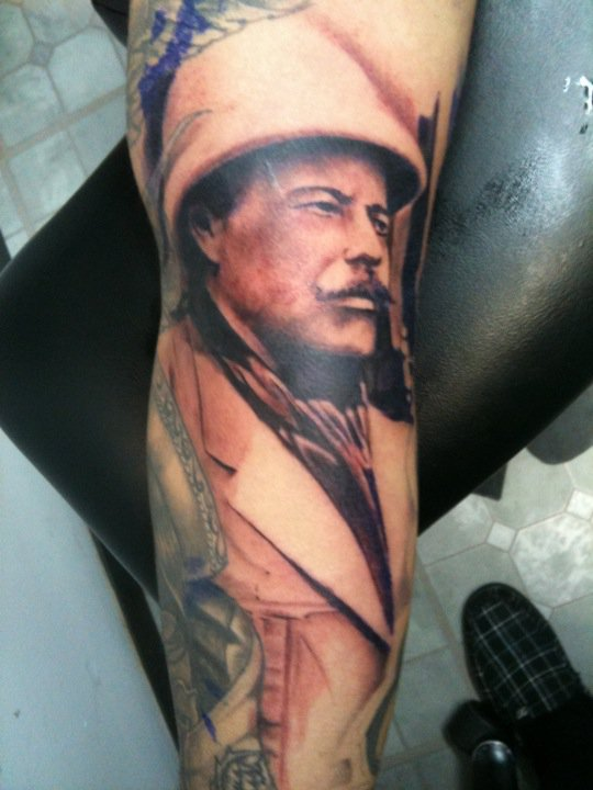 blindside tattoo studio general francisco pancho villa