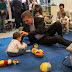 Macri inauguró una escuela infantil en Villa Pueyrredón