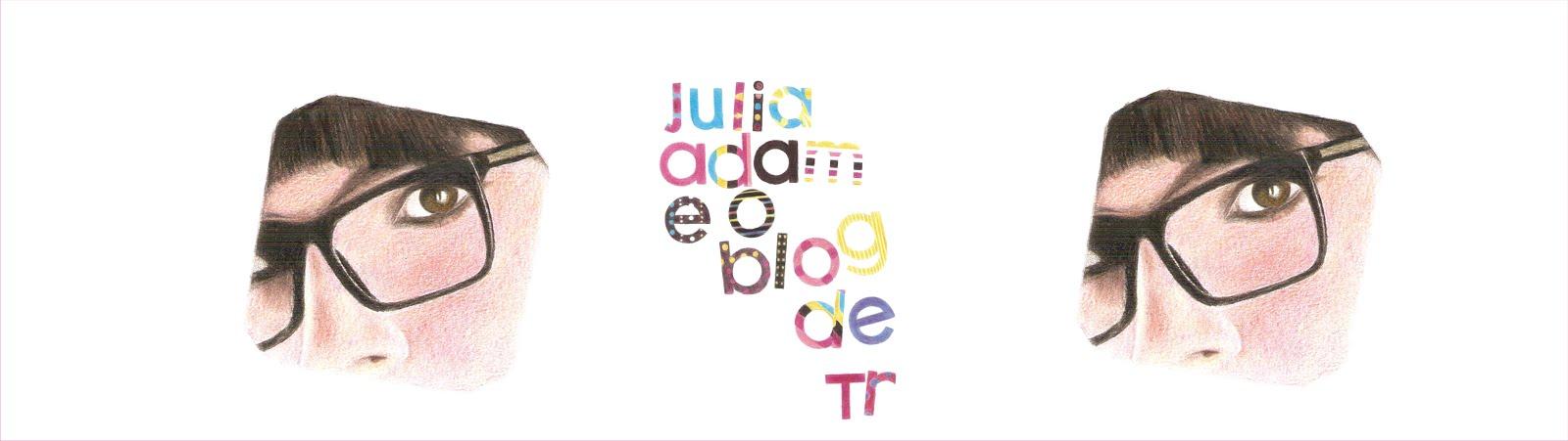 Júlia Adam e o Blog de TR