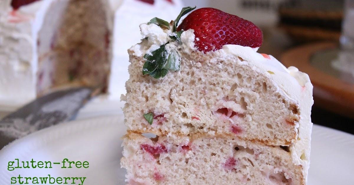 ... Forbes - Gingerlemongirl.com: Gluten-Free Strawberry Cake Recipe