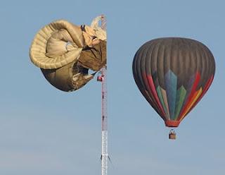 Acidente de balão de ar