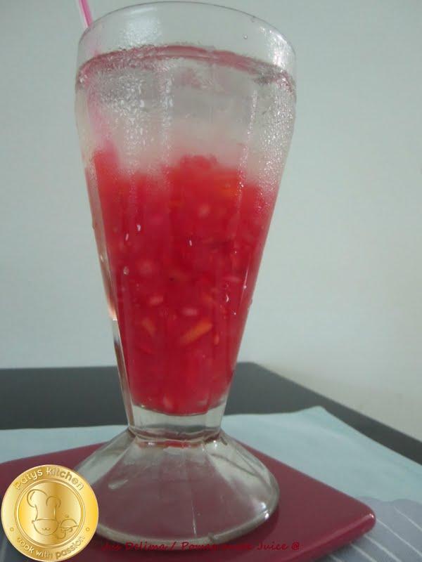PATYSKITCHEN: POMEGRANATE SODA DRINKS