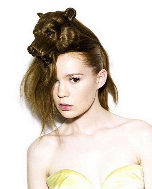 animal styles hair womans