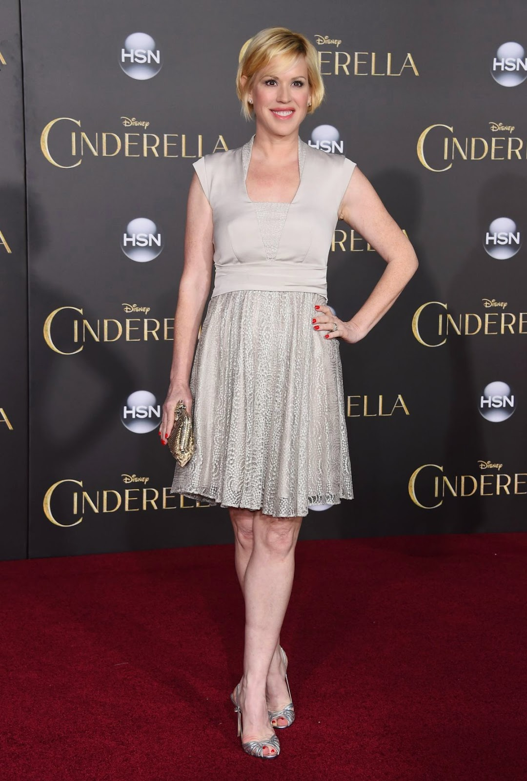Actress @ Molly Ringwald - 'Cinderella' premiere at El Capitan Theatre in Los Angeles