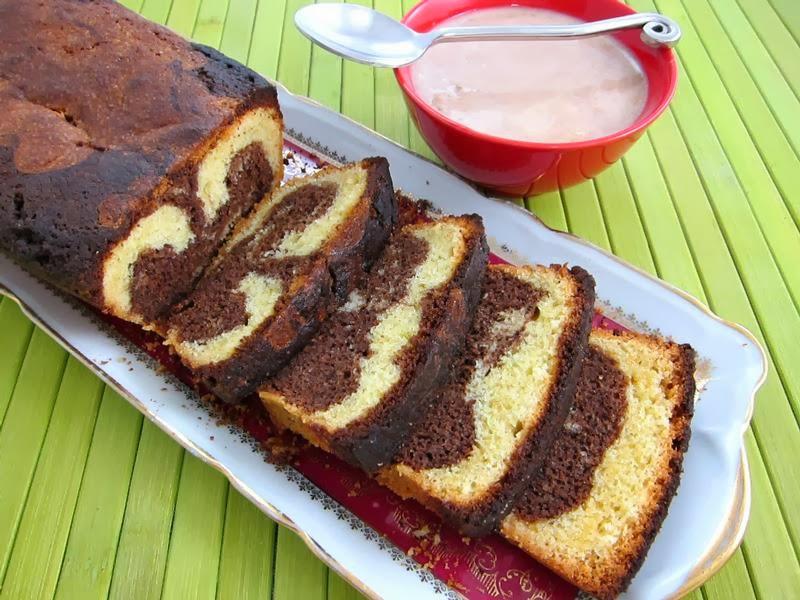 Cake Marbr Ef Bf Bd Recette Facile