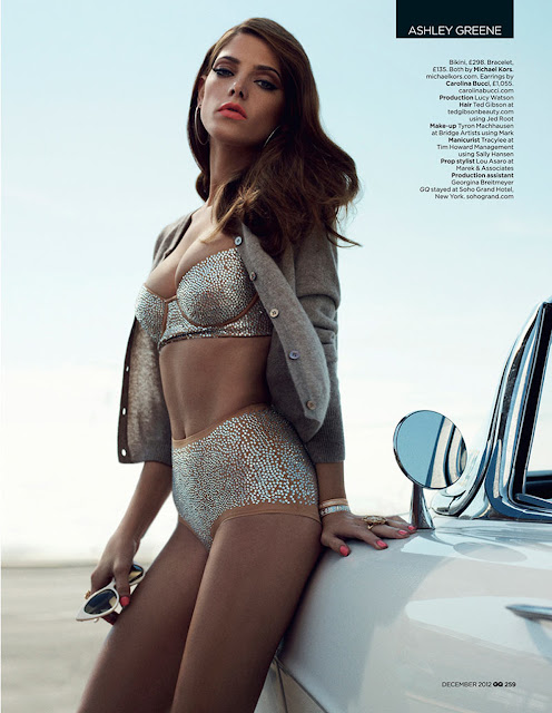 Ashley Greene for GQ UK December 2012