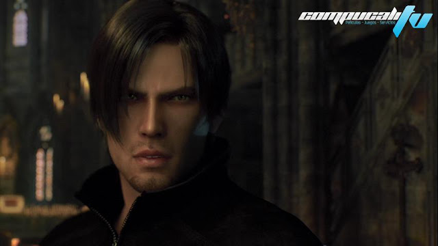 Resident Evil Damnation DVDR NTSC Full Español Latino Menú 2012