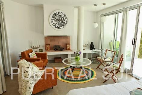 Puerta al sur decor con alfombras redondas tu living - Alfombras redondas ...