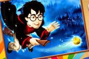 Harry Potter Melez Prens Boyama Oyunu