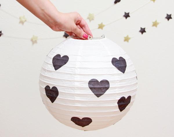 Pottery barn teen round paper lantern
