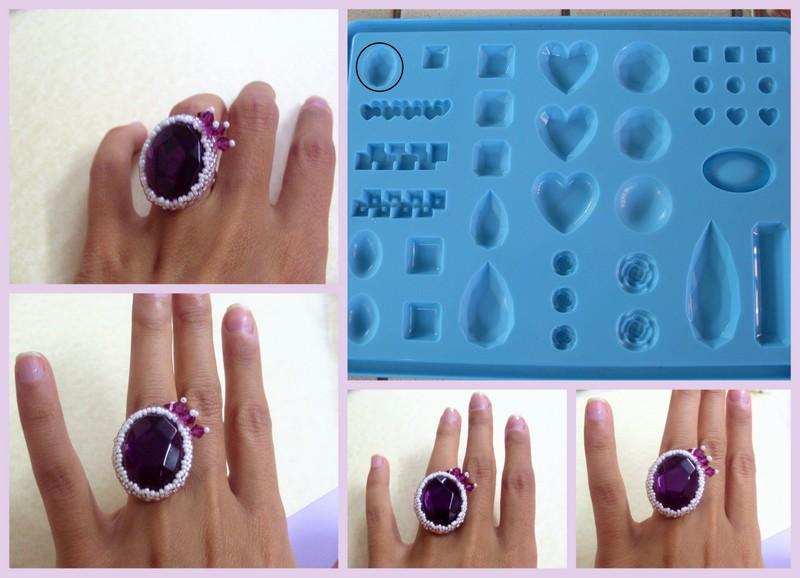Favorito Zyrconia Bijoux: Patterns Beads: Ovale sfaccettato resina - Stampi  QC36