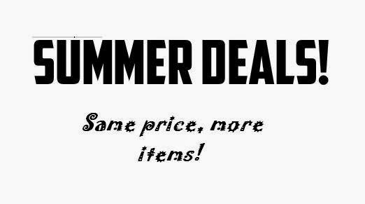 special deals summer campaign