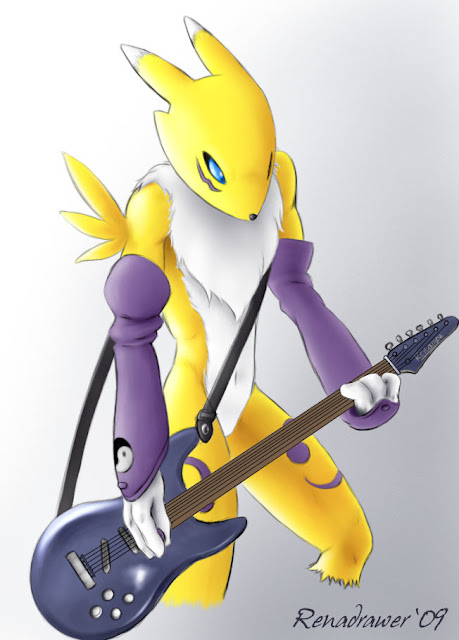 Renamon, Guitar... Insane Solo por renadrawer