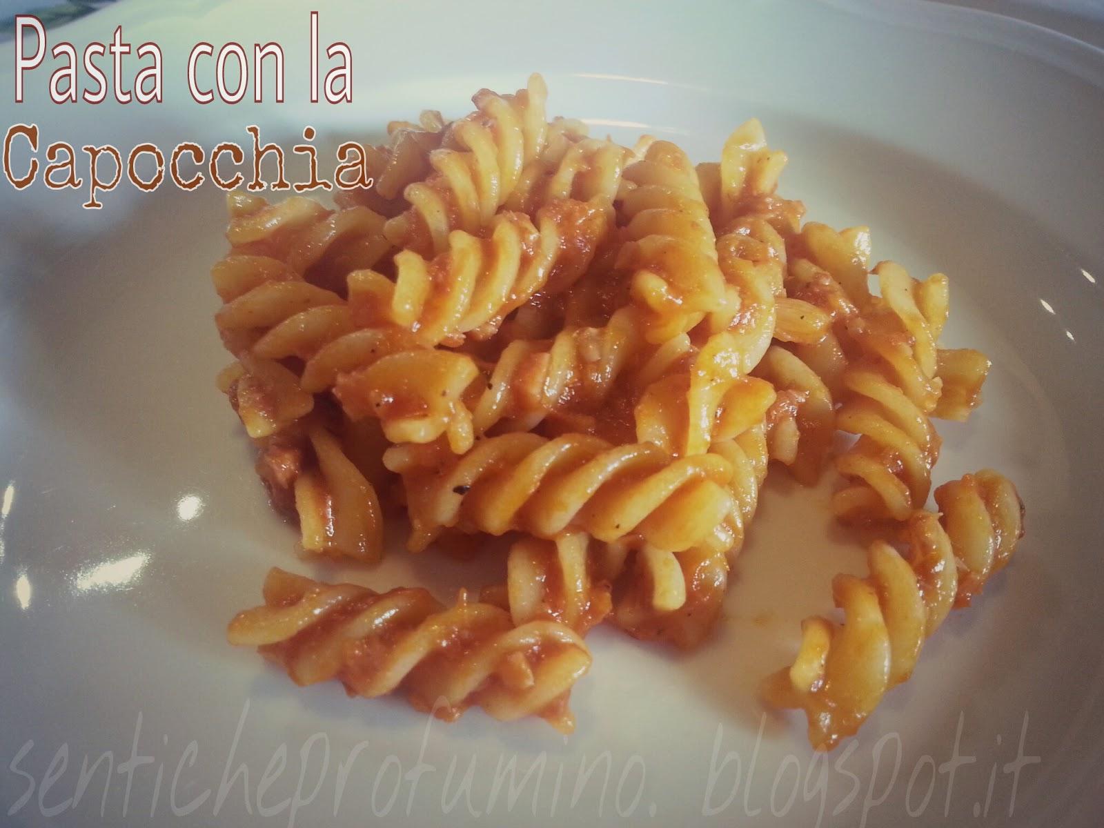 """Pasta con la """"Capocchia"""" (o soppressata)"""