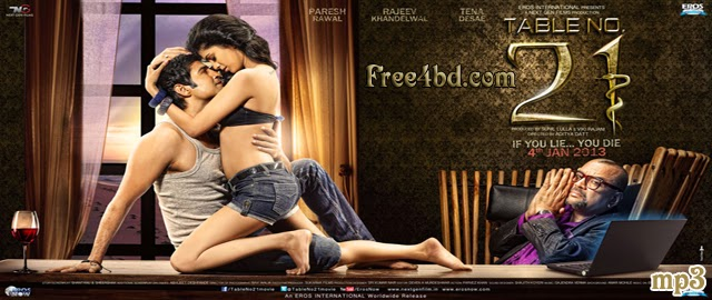 Table no 21 by aditya datt 2013 bollywood new movie for Table no 21 movie