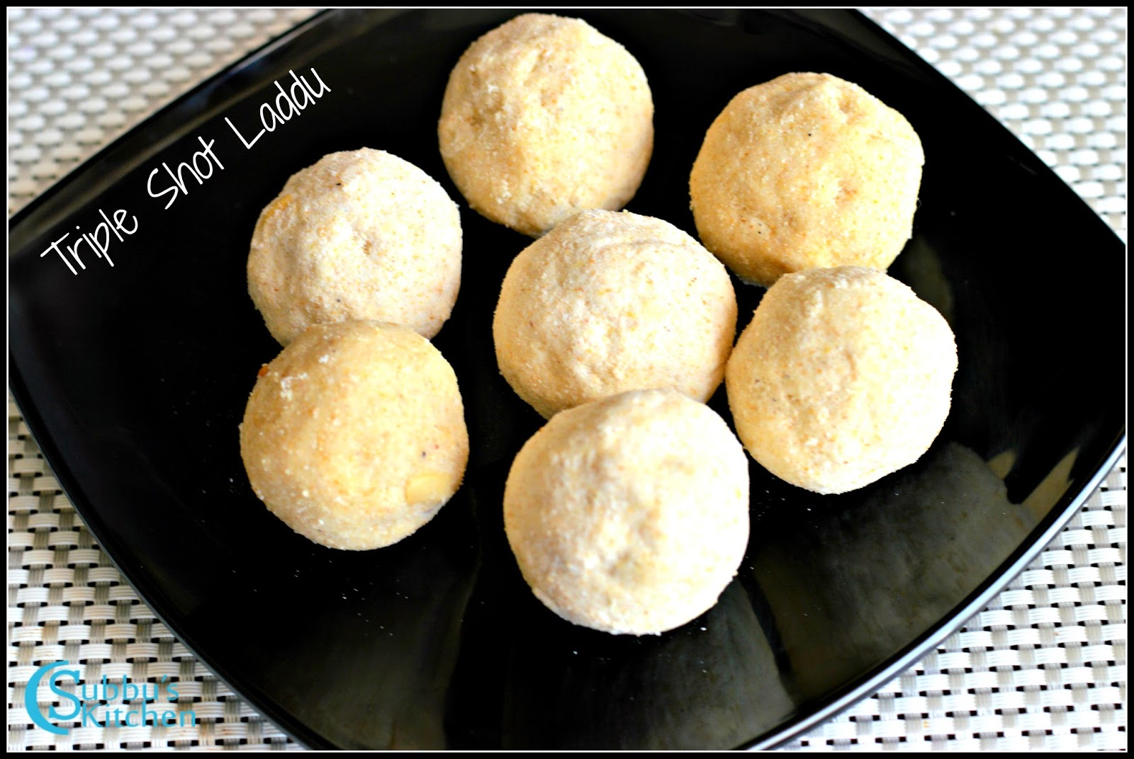 Triple Shot Ladoo
