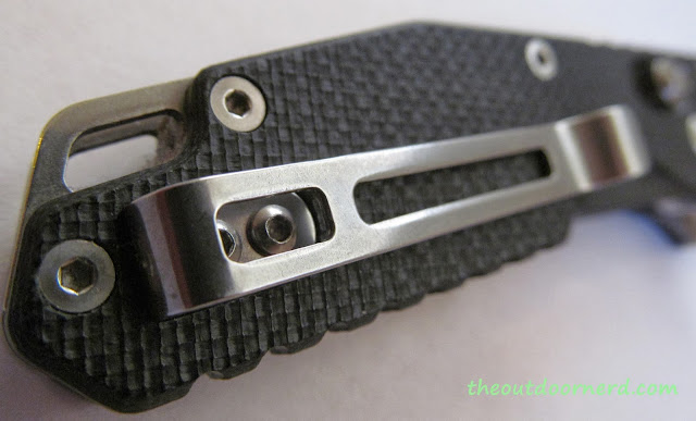 SanRenMu GB-763 Pocket Knife - Handle Closeup 3