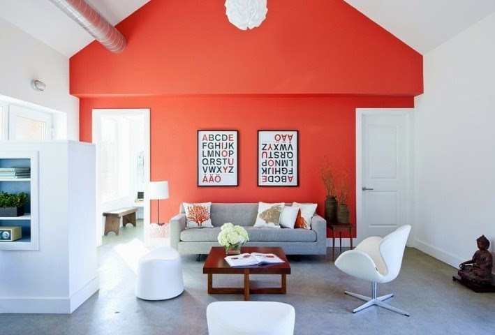 Accent wall paint ideas for living room for Focal wall ideas for living room