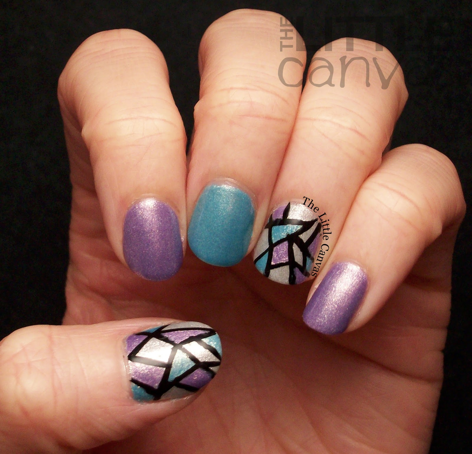 Zoya Hudson, Rebel, and Seraphina Nail Art - The Little Canvas